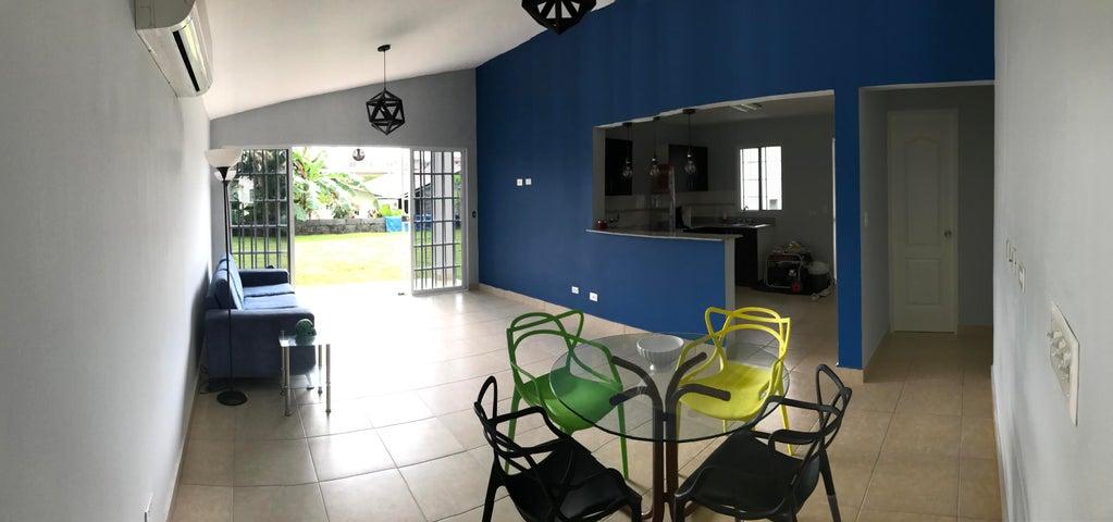 Casa Panama>La chorrera>Chorrera - Alquiler:600 US Dollar - codigo: 19-8259