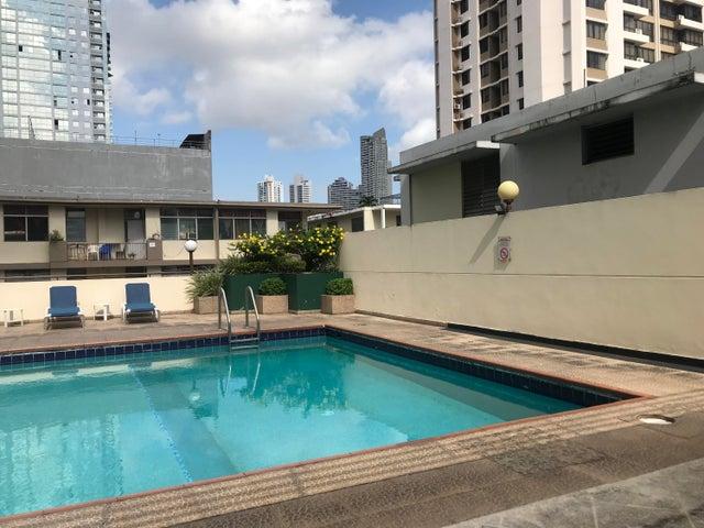 Apartamento Panama>Panama>Obarrio - Alquiler:1.350 US Dollar - codigo: 19-8452