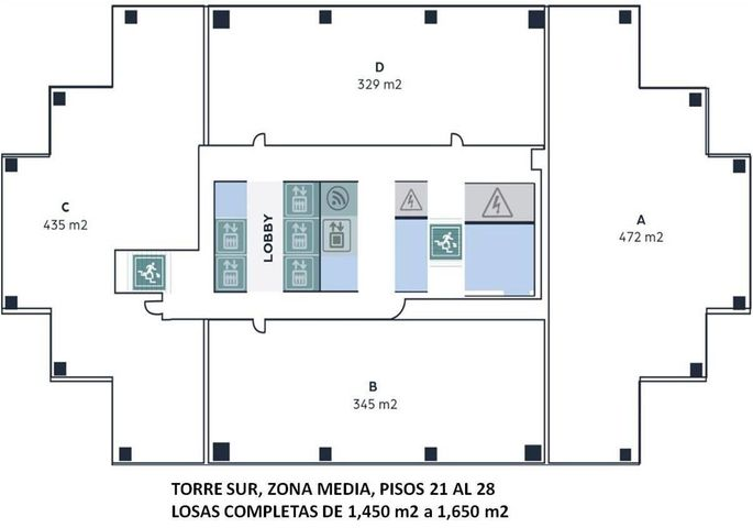 Oficina Panama>Panama>Obarrio - Alquiler:6.202 US Dollar - codigo: 20-443