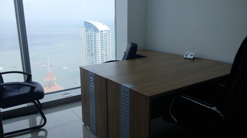 Oficina Panama>Panama>Punta Pacifica - Alquiler:1.100 US Dollar - codigo: 20-10063