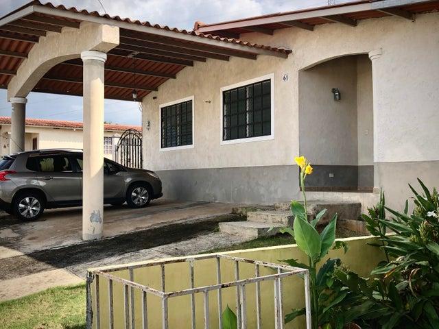 Casa Panama>Panama Oeste>Arraijan - Venta:111.500 US Dollar - codigo: 20-1990