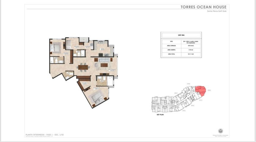 Apartamento Panama>Panama>Santa Maria - Venta:308.616 US Dollar - codigo: 20-5517