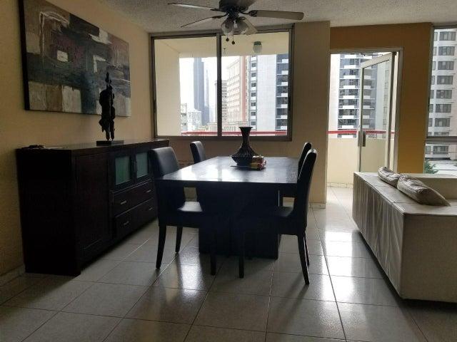 Apartamento Panama>Panama>El Cangrejo - Alquiler:1.100 US Dollar - codigo: 20-9572