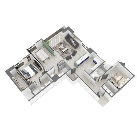 Apartamento Panama>Panama>Carrasquilla - Venta:235.000 US Dollar - codigo: 20-6132