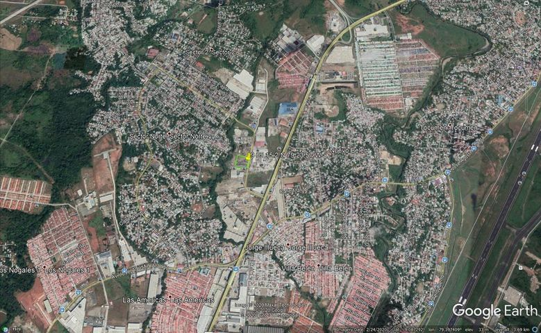 Terreno Panama>Panama>Tocumen - Venta:2.750.000 US Dollar - codigo: 20-12514