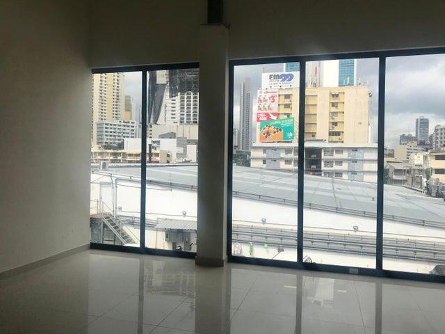 Oficina Panama>Panama>Via España - Alquiler:800 US Dollar - codigo: 21-2312