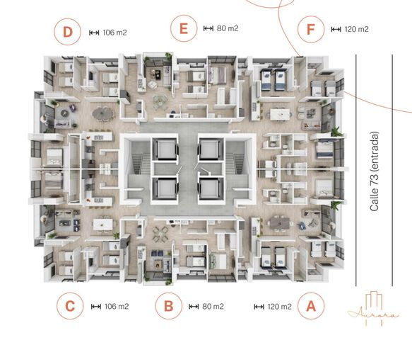 Apartamento Panama>Panama>San Francisco - Venta:267.000 US Dollar - codigo: 21-3924