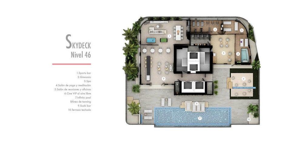 Apartamento Panama>Panama>Paitilla - Venta:800.000 US Dollar - codigo: 21-5551