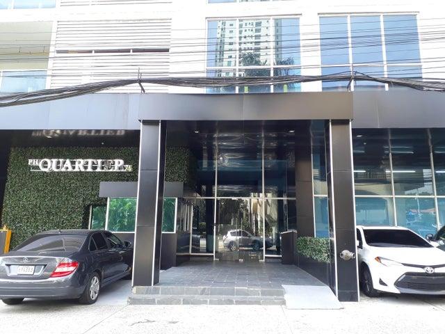 Apartamento Panama>Panama>San Francisco - Alquiler:900 US Dollar - codigo: 21-9692