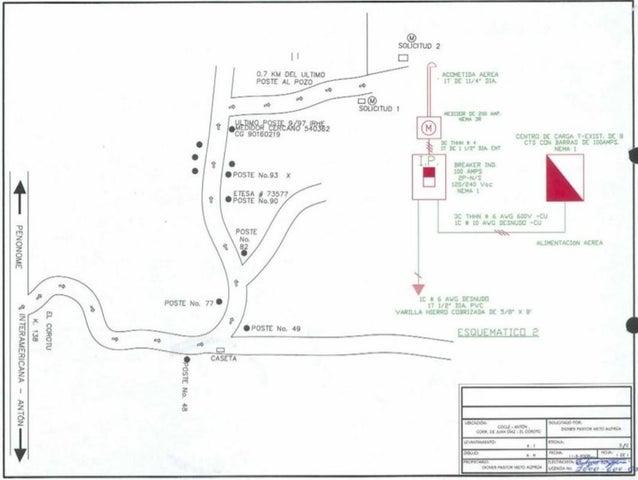 Terreno Cocle>Antón>El Chiru - Venta:750.000 US Dollar - codigo: 21-9759