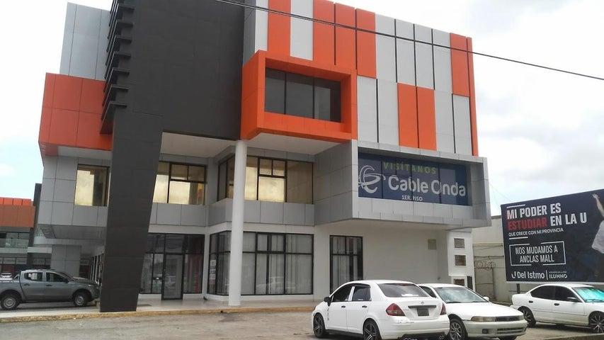 Oficina Panama>La chorrera>Chorrera - Alquiler:575 US Dollar - codigo: 21-9980