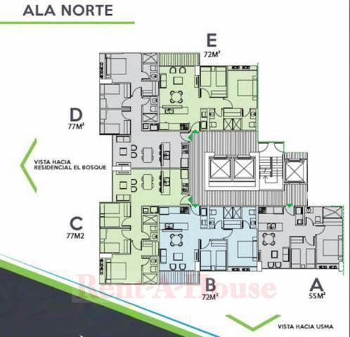 Apartamento Panama>Panama>Condado del Rey - Alquiler:870 US Dollar - codigo: 21-12260