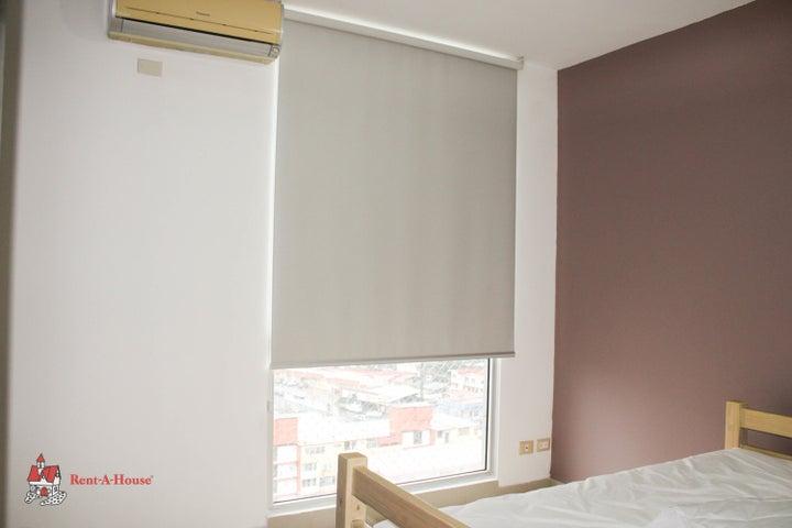 Apartamento Panama>Panama>San Francisco - Alquiler:1.300 US Dollar - codigo: 21-12220