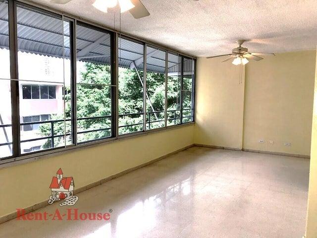 Apartamento Panama>Panama>Bellavista - Alquiler:900 US Dollar - codigo: 22-1547