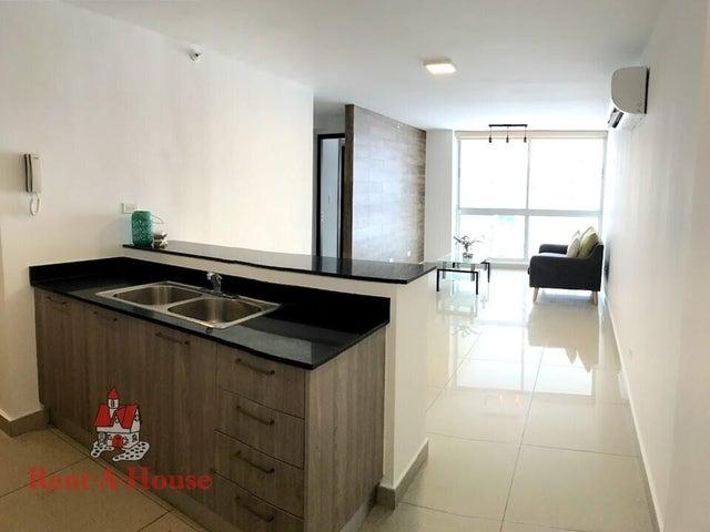 Apartamento Panama>Panama>Carrasquilla - Alquiler:825 US Dollar - codigo: 22-1725