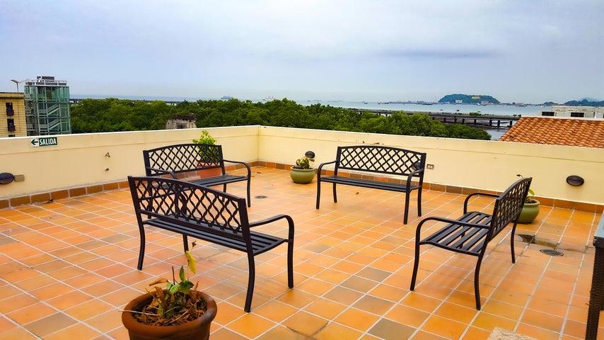Apartamento Panama>Panama>Casco Antiguo - Alquiler:1.200 US Dollar - codigo: 22-1726