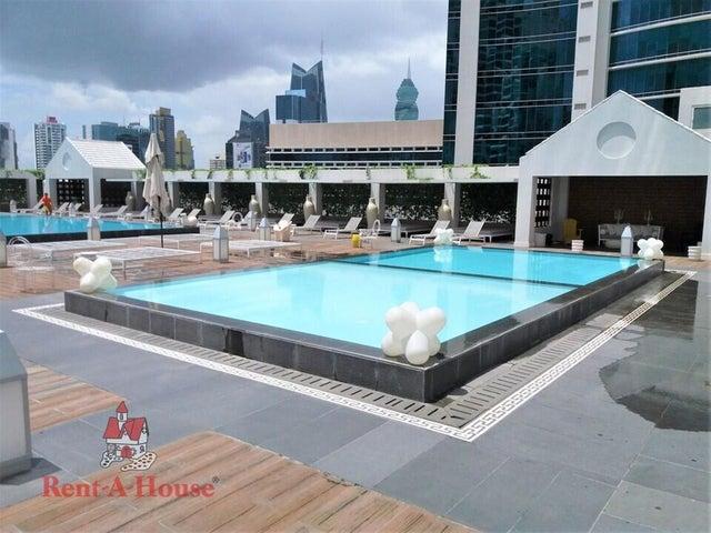 Apartamento Panama>Panama>Avenida Balboa - Alquiler:1.800 US Dollar - codigo: 22-1739