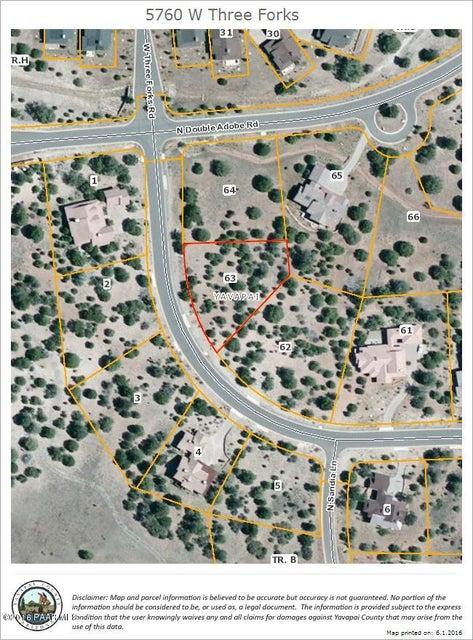 5760 W Three Forks Road Prescott, AZ 86305 - MLS #: 995686