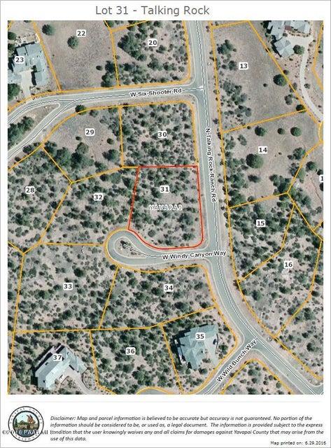 11900 Windy Canyon Way Prescott, AZ 86305 - MLS #: 996454