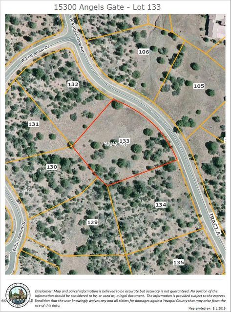15300 N Angels Gate Road Prescott, AZ 86305 - MLS #: 997262