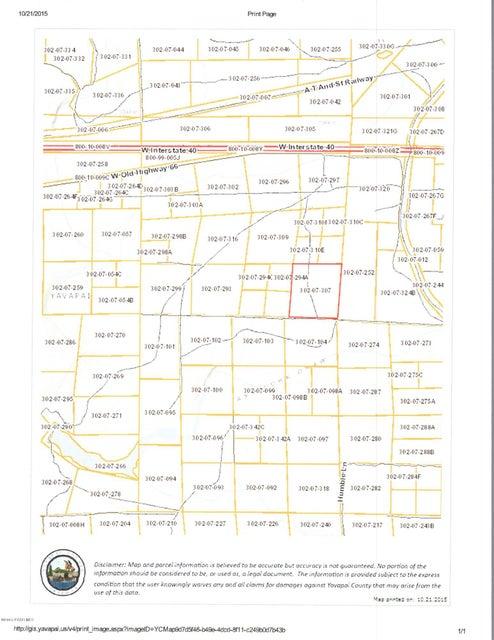 307 Unnamed Road Ash Fork, AZ 86320 - MLS #: 1007758