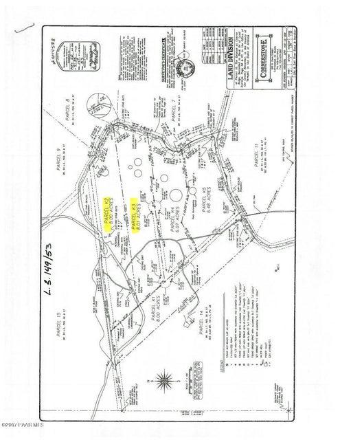 0 Dewey Overlook Way Dewey-Humboldt, AZ 86327 - MLS #: 1007956