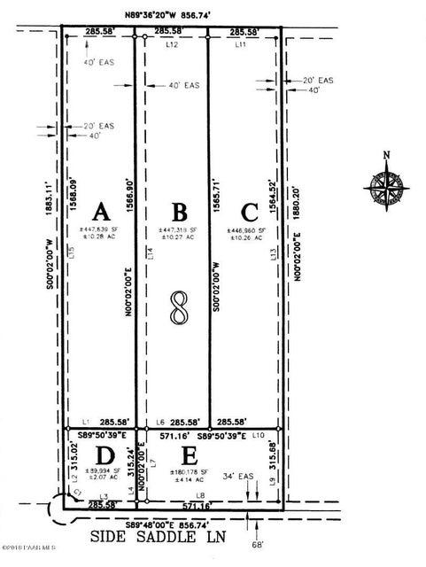 8d Side Saddle Lane Prescott Valley, AZ 86315 - MLS #: 1014524