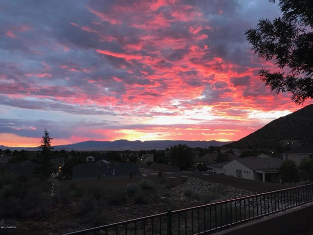 Sunrise 7/18/18 from the Patio