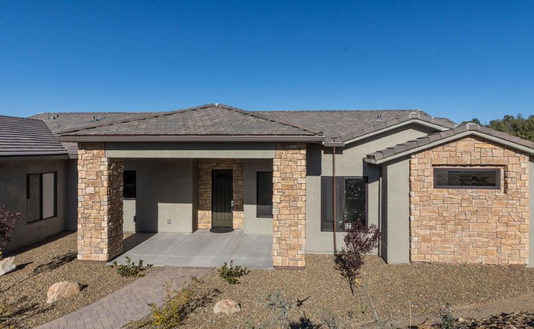 Brand new custom home with beautiful features.