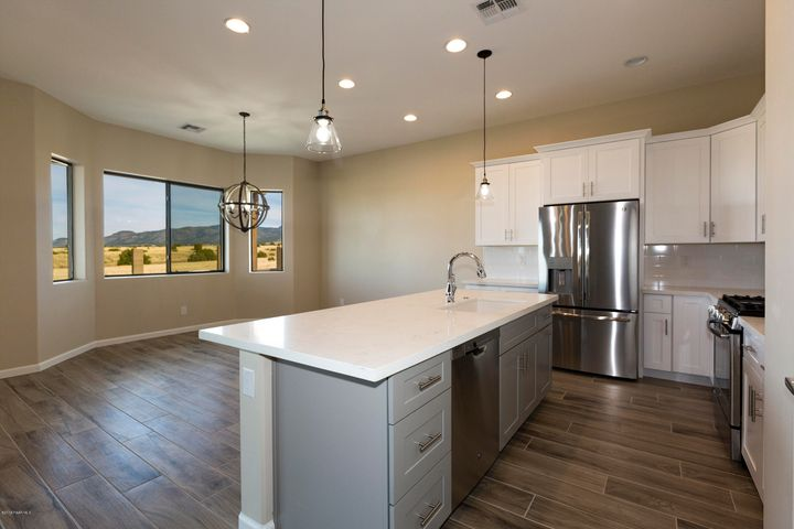 Beautiful kitchen looking out to state land - forever views