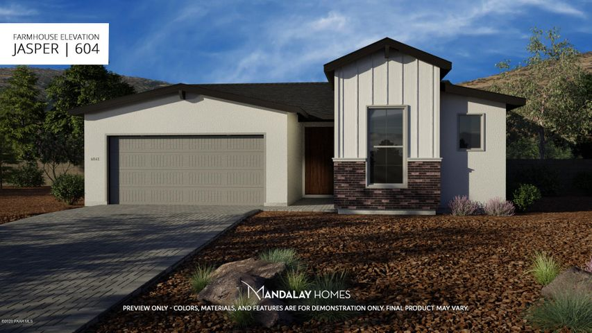 Artistic Rendering only. Completed home will vary in colors and finishes.