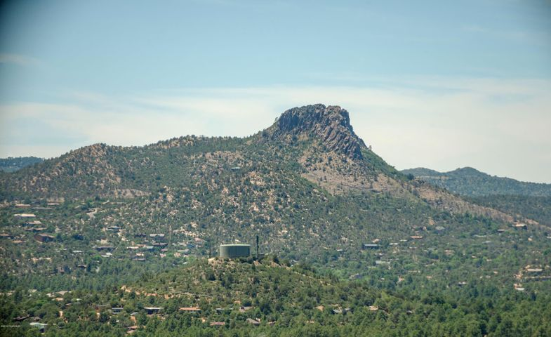 Enjoy the best views in Prescott from this amazing lot! Large 5-acre lot with a build pad already started and a nice dirt driveway. Incredible panoramic views of Thumb Butte, Granite Mountain, and the National Forest to name a few. Close to downtown Prescott with paved private road access. This amazing lot is ready to build your big Prescott dream home. Drive by or schedule a showing today!