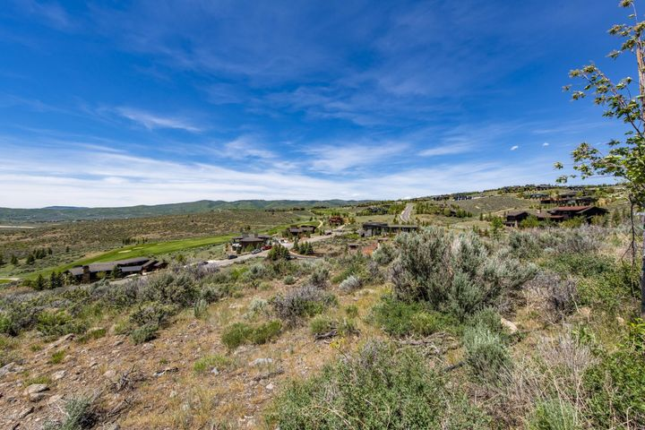 This gently sloping downhill lot is the perfect spot to build your Promontory dream home. The lot is just over 1.5 acres and is located in the West View neighborhood. The lot offers sweeping views of the Wasatch Back Mountains and Deer Valley and Park City ski areas. The lot is also ideally located in Promontory in that it is a short distance to main Dye Course amenity campus(The Shed, Dye Clubhouse, Ranch Clubhouse, Kids Cabin, etc.) with relatively short access to the Equestrian Gate.