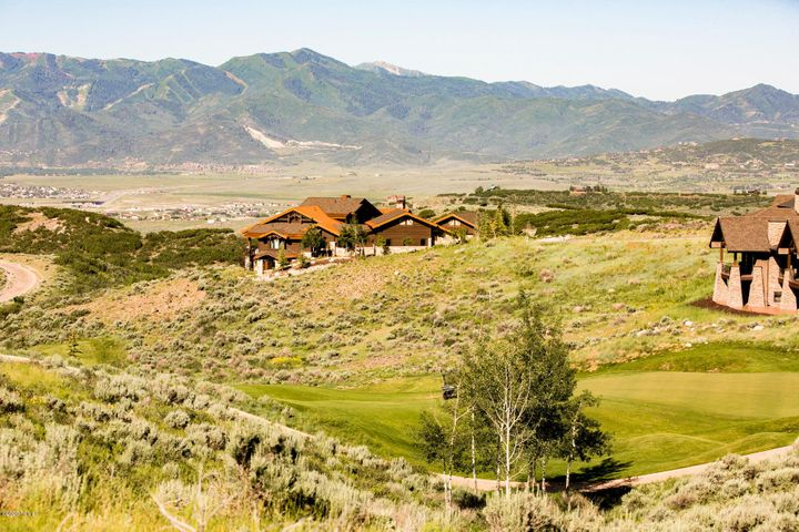 Stunning sunsets. Amazing golf and ski resort views. Sit back and enjoy the abundant wildlife and Aspen groves that can can be seen from this premium lot. Located on the 13th Green offers you the great views down the fairway as well as the mountain views. Great value for the market.