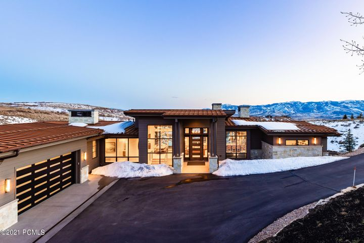 This sophisticated home has it all, including jaw-dropping golf and ski views  with stylish interiors that will make you feel at ease every time you arrive home. This single-owner home was carefully designed and constructed with Otto-Walker architects, Don Craig Builders and Paula Berg Design. A stylish living room and bar has floor-to-ceiling windows that overlook several golf holes up a secluded canyon with Deer Valley ski views. Enjoy Promontory's colorful sunsets from the deck or from the covered patio and hot tub on the lower-level walkout. The house has been built with the highest quality finishes, which you can see in each and every room of the home. A Full/Golf Membership is available for purchase through the Promontory Club. Offered furnished.