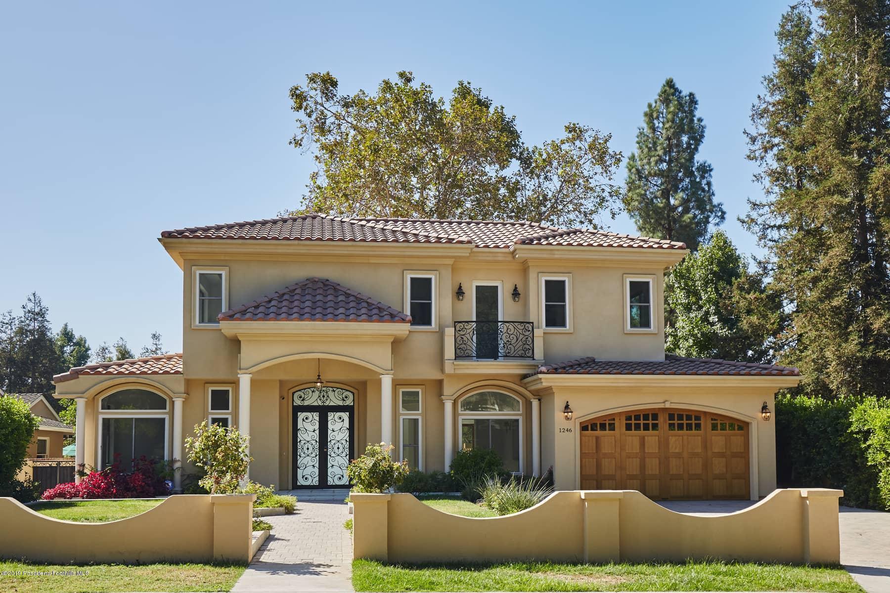 1246 El Vago Street, La Canada Flintridge, CA 91011