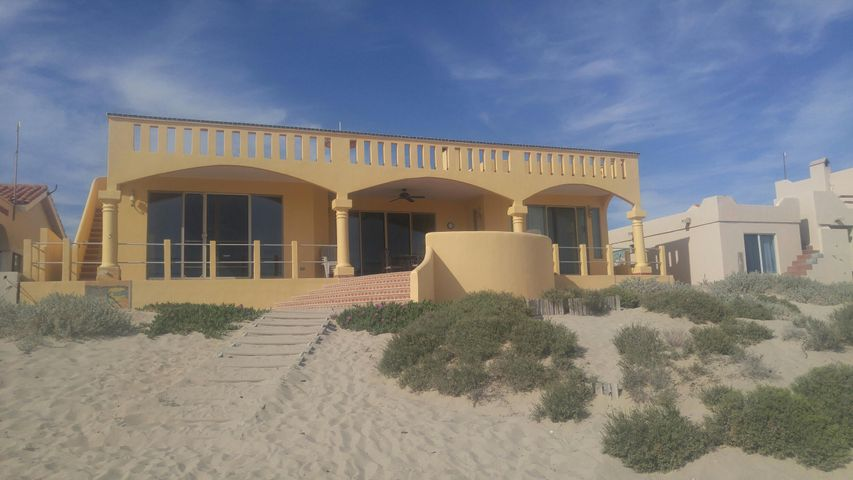 Located on the beach of the Sea of Cortz