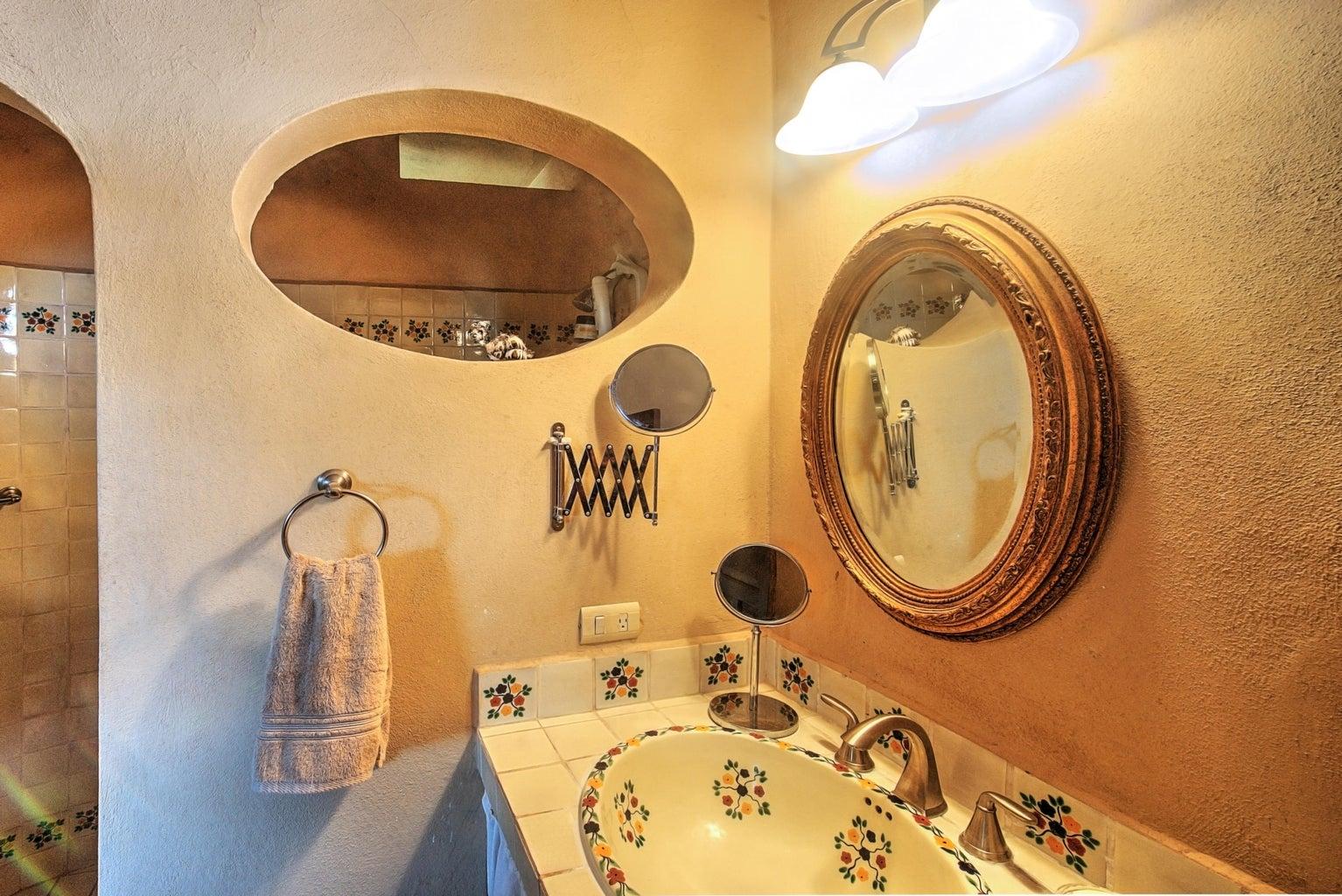 Shared bathroom in main home