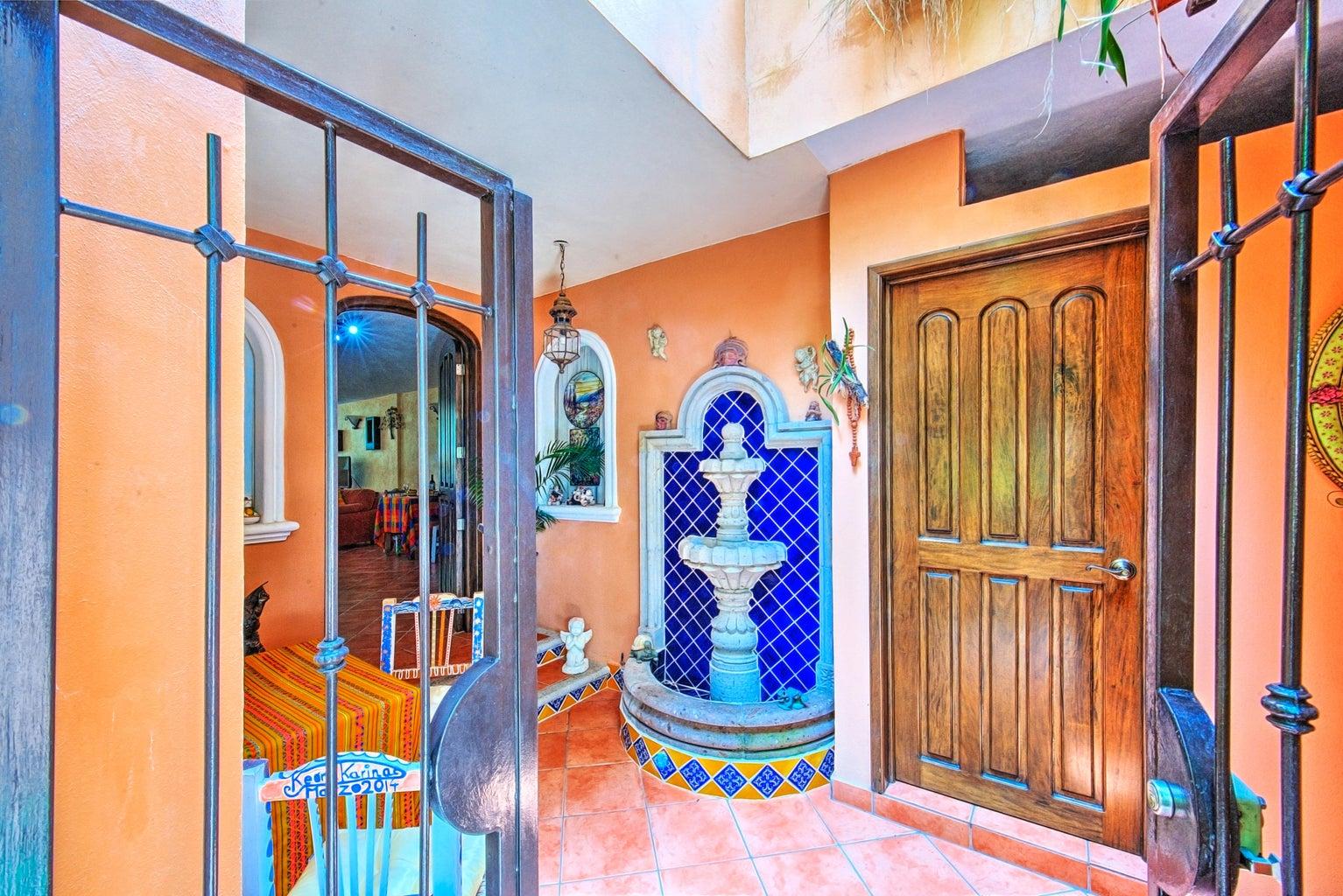 entrance to garden apartment