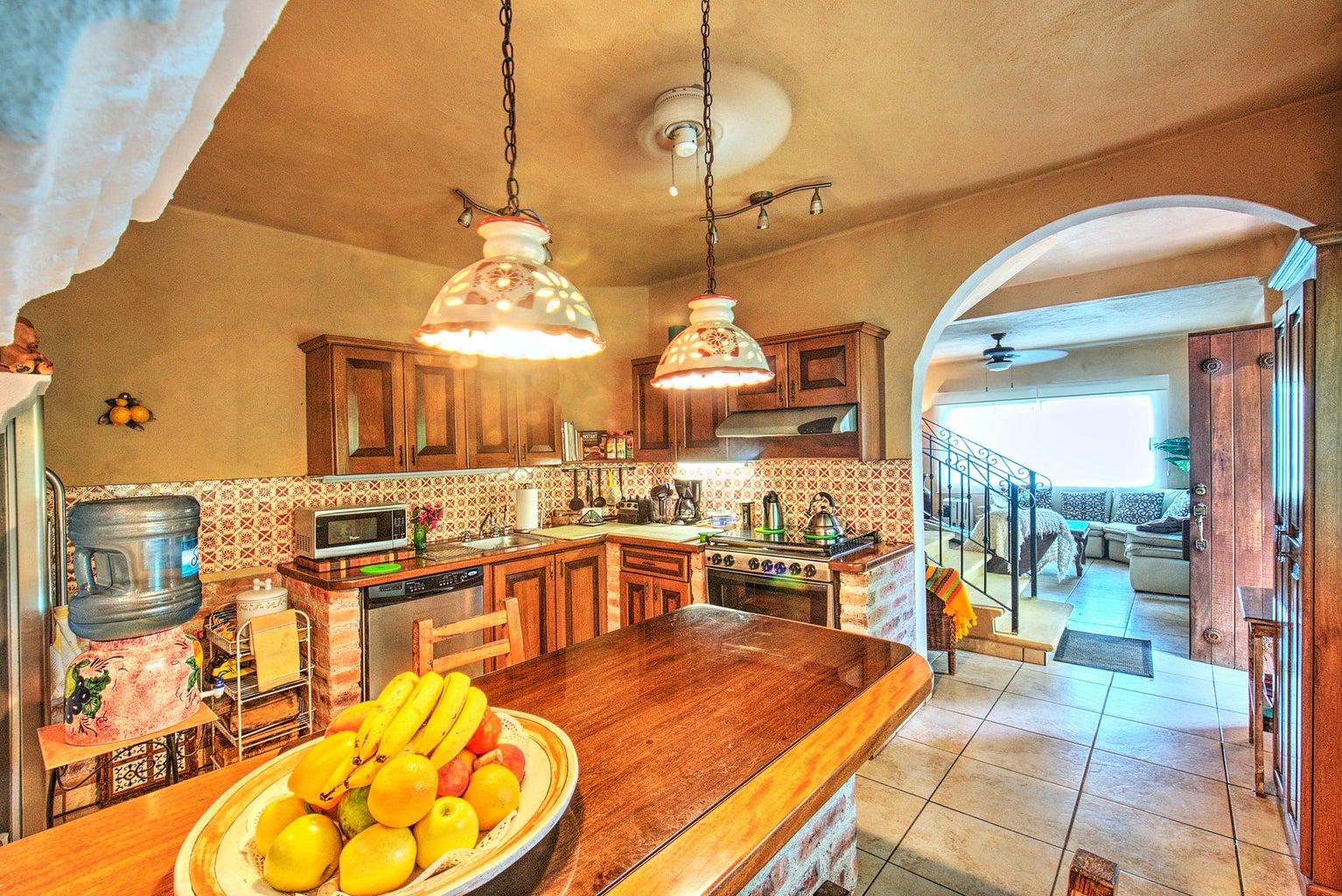 Main-home kitchen