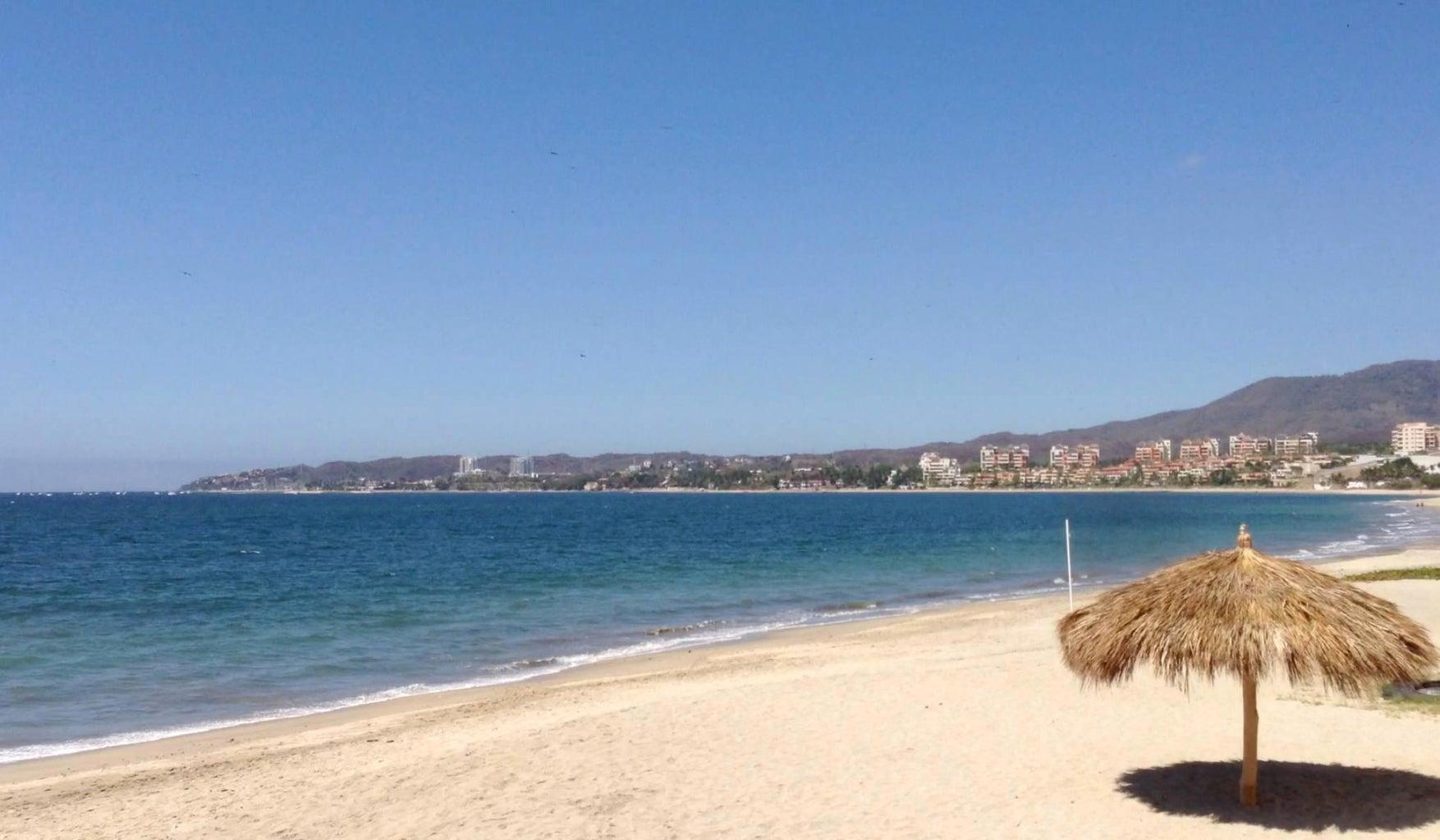 Bucerias beach access is just 75 steps away