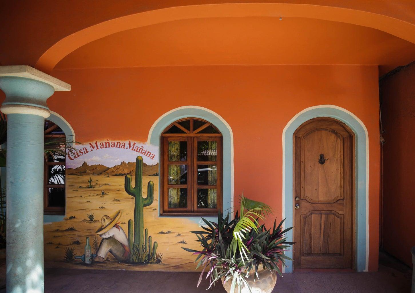 Entrance of Casa Manau00f1a Manau00f1a