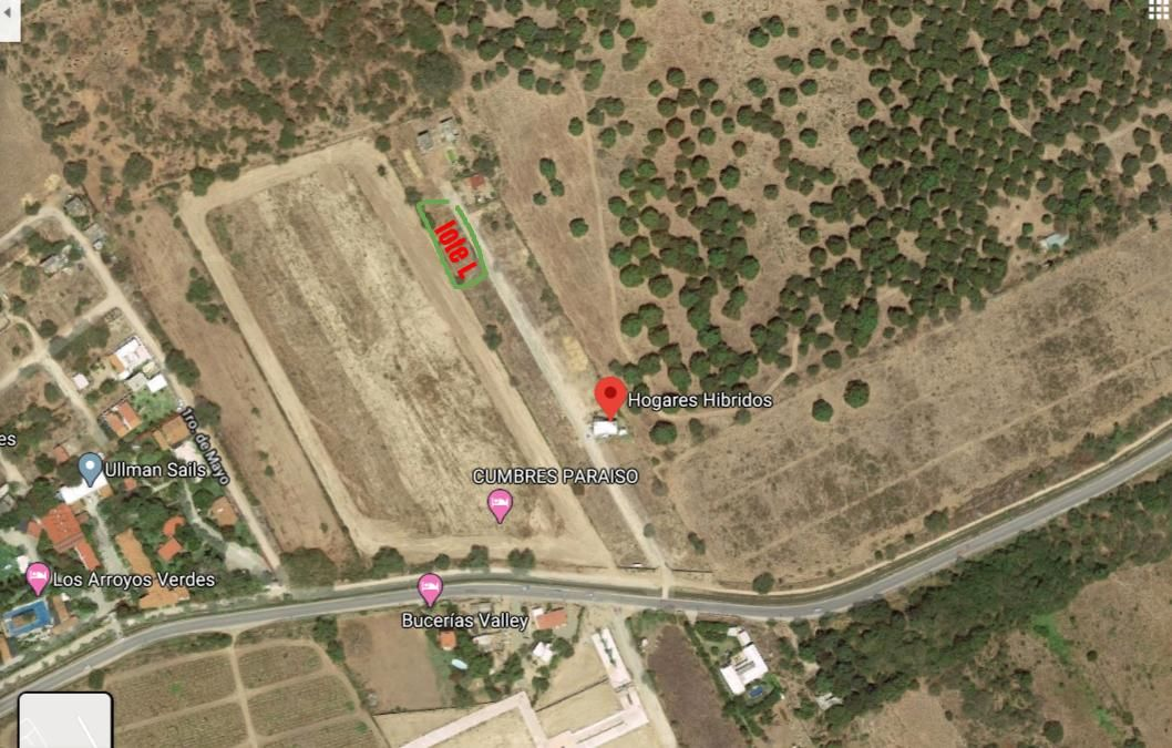 Lote L Google Earth
