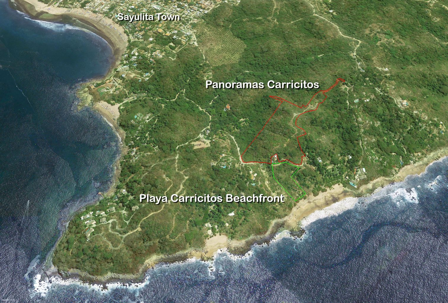 Playa Carricitos Panoramas