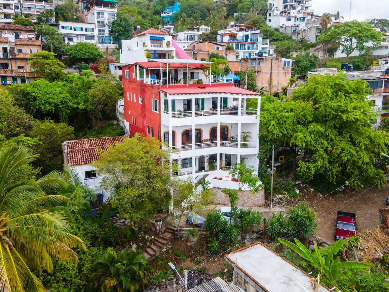 Drone photo of Casa Brasil