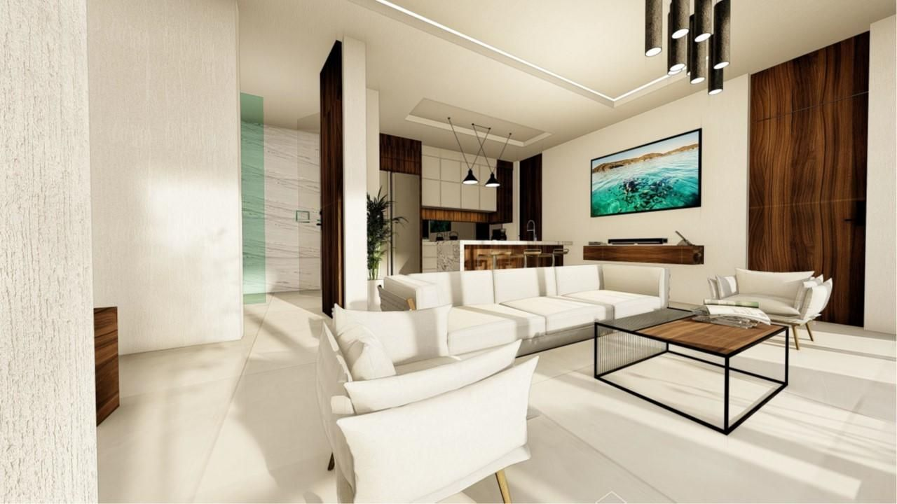 1 bed 2 bath Plac C - living space