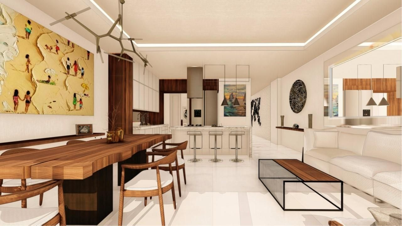 2 bed 2 bath Plan A - living space