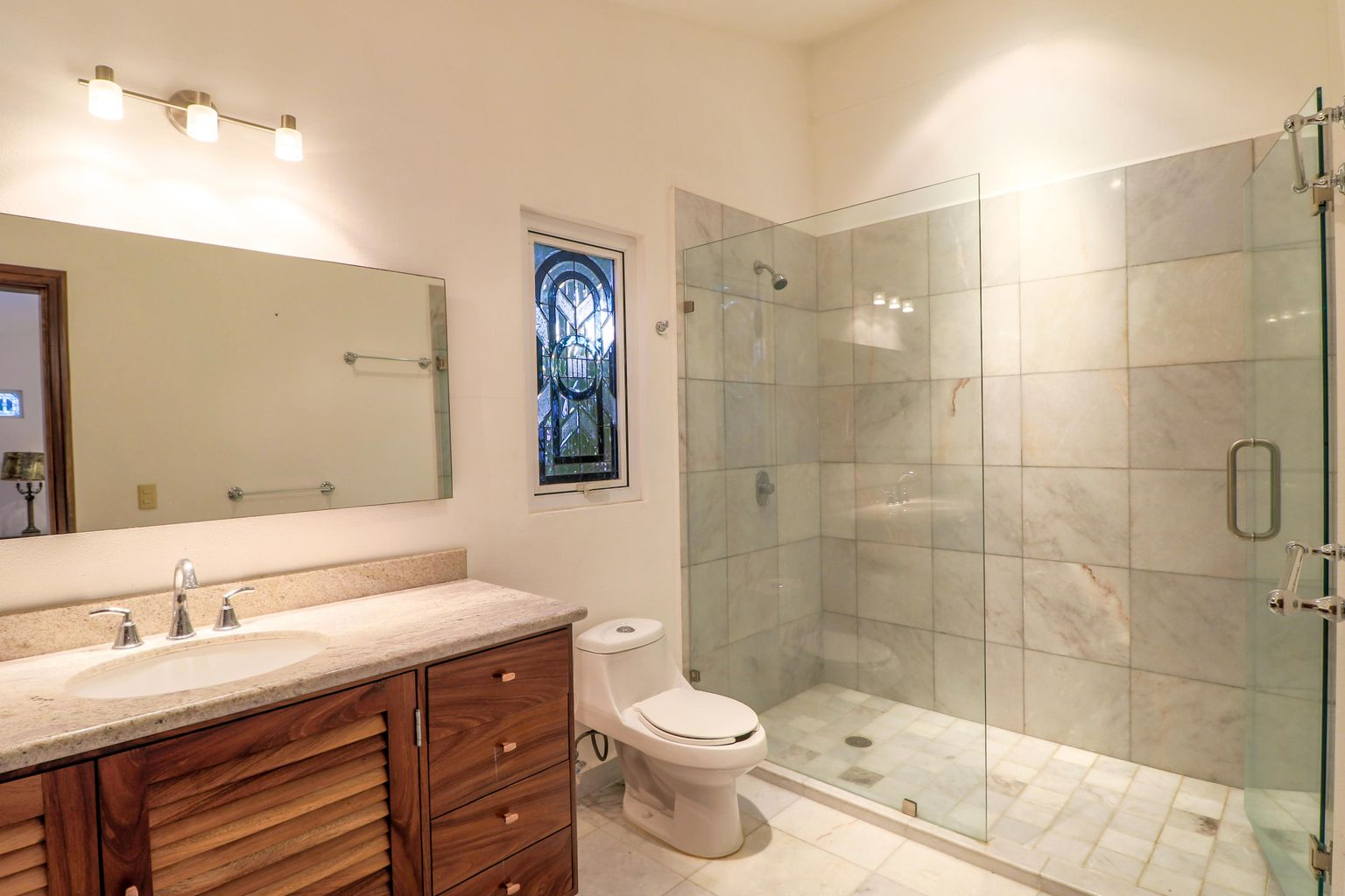 master bathroom on second floor
