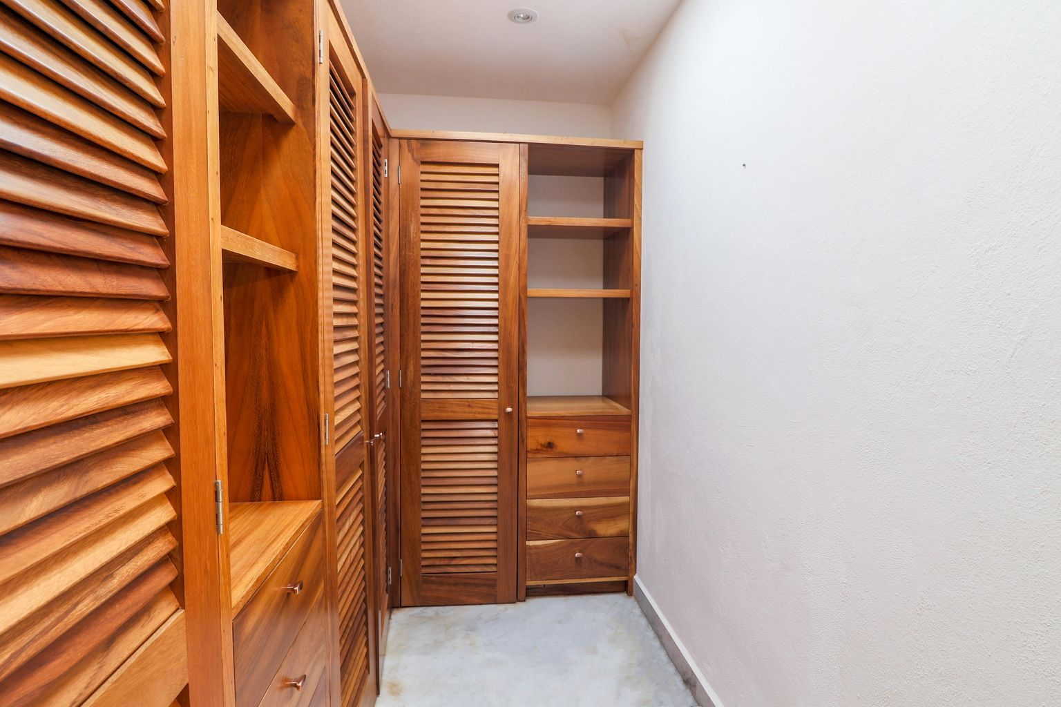 master closet on second floor