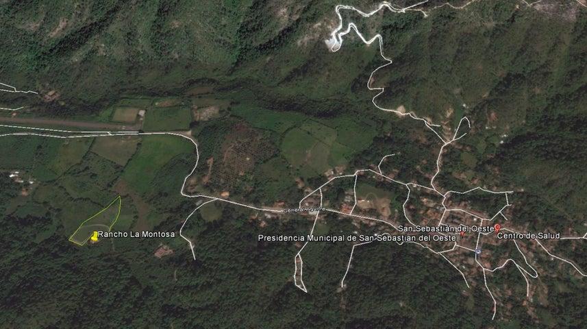 1 FRACCION, RANCHO LA MONTOSA, Sierra Madre Jalisco, JA